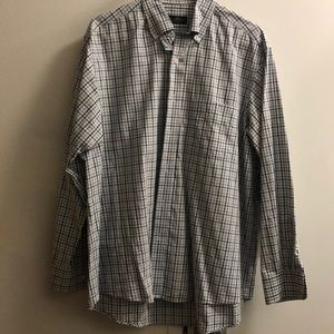 Club Room Regular Fit Size Large Dress Shirt